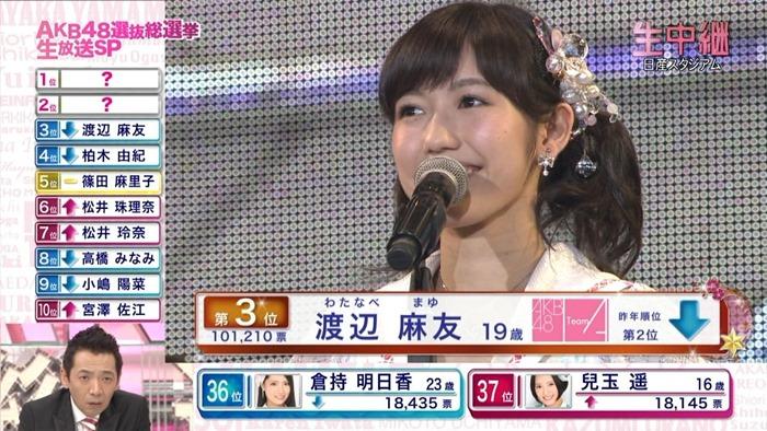 130608 AKB48 32nd Single Senbatsu Sousenkyo (Fuji TV broadcast).ts - 00008