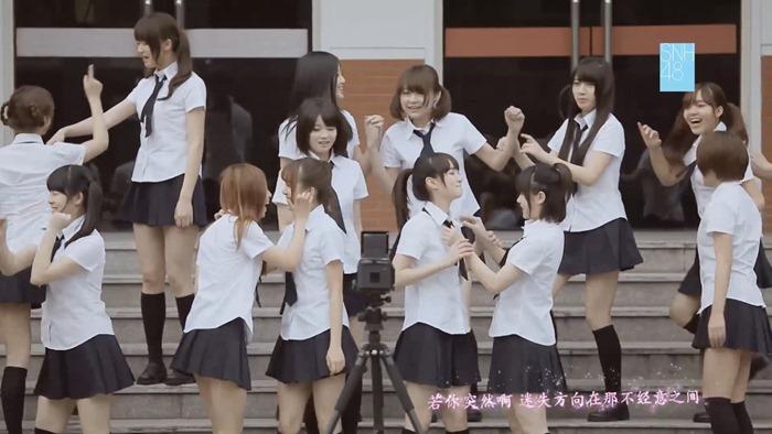 SNH48《化作樱花树》MV正式版 - YouTube.MP4 - 00013