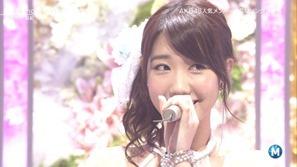 [大水怪] 柏木由紀 - Birthday wedding (Music Station 2013.09.27).ts - 00000