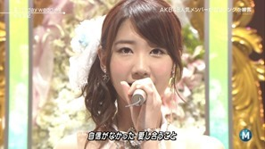 [大水怪] 柏木由紀 - Birthday wedding (Music Station 2013.09.27).ts - 00002