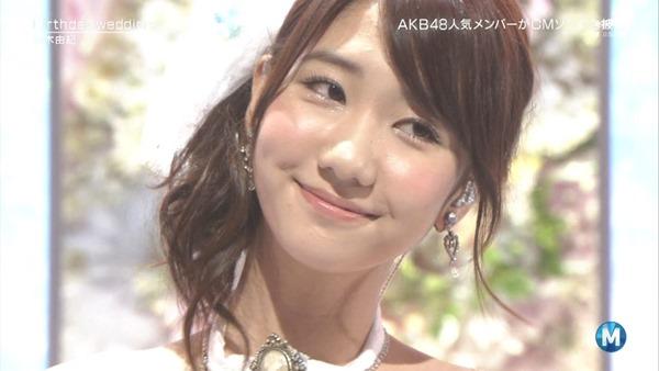 [大水怪] 柏木由紀 - Birthday wedding (Music Station 2013.09.27).ts - 00007