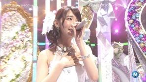 [大水怪] 柏木由紀 - Birthday wedding (Music Station 2013.09.27).ts - 00012