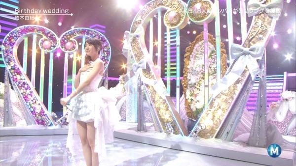 [大水怪] 柏木由紀 - Birthday wedding (Music Station 2013.09.27).ts - 00013