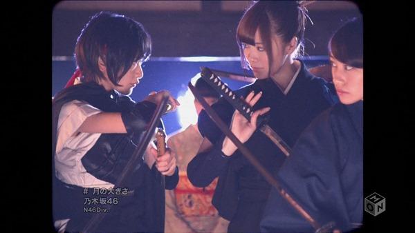 Nogizaka46 - Tsuki no Ookisa (1440x1080i H.264 AAC M-ON! HD) (2013.11.27).ts - 00095