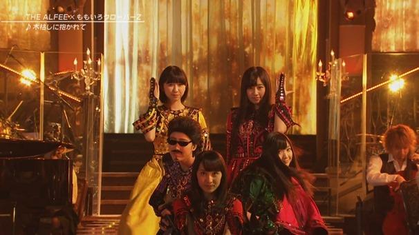 28. Momoiro Clover Z & THE ALFEE - Kogarashi ni Dakarete.mp4 - 00002