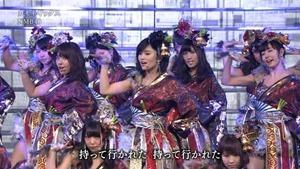 NMB48 PART (64th NHK Kouhaku Uta Gassen 2013.12.31).ts - 00012