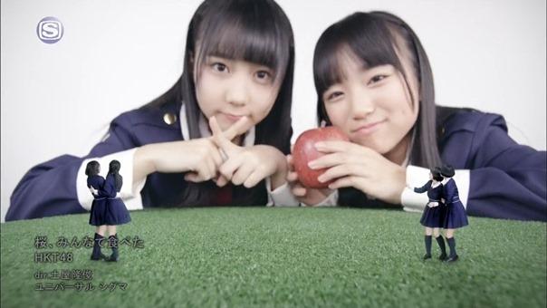 [PV] (2014.03.12) HKT48 - Sakura, Minna de Tabeta (full ver.) (1440x1080i H.264 AAC SSTV HD).ts - 00051