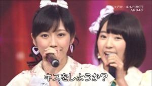 AKB48, HKT48 & AKB48G - Labrador Retriever, Melon Juice, Koisuru Fortune Cookie (TV Tokyo Ongakusai 140626).ts - 00027