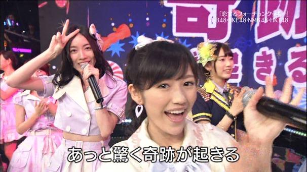 AKB48, HKT48 & AKB48G - Labrador Retriever, Melon Juice, Koisuru Fortune Cookie (TV Tokyo Ongakusai 140626).ts - 00070