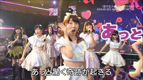 AKB48, HKT48 & AKB48G - Labrador Retriever, Melon Juice, Koisuru Fortune Cookie (TV Tokyo Ongakusai 140626).ts - 00068