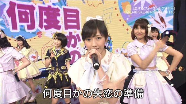 AKB48, HKT48 & AKB48G - Labrador Retriever, Melon Juice, Koisuru Fortune Cookie (TV Tokyo Ongakusai 140626).ts - 00062