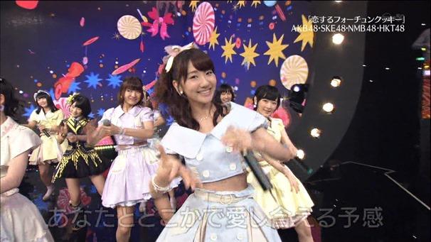 AKB48, HKT48 & AKB48G - Labrador Retriever, Melon Juice, Koisuru Fortune Cookie (TV Tokyo Ongakusai 140626).ts - 00073