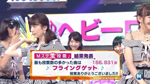 AKB48 - Labrador Retriever   Flying Get (Music Station 2014.06.27).ts - 00054