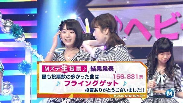 AKB48 - Labrador Retriever   Flying Get (Music Station 2014.06.27).ts - 00057