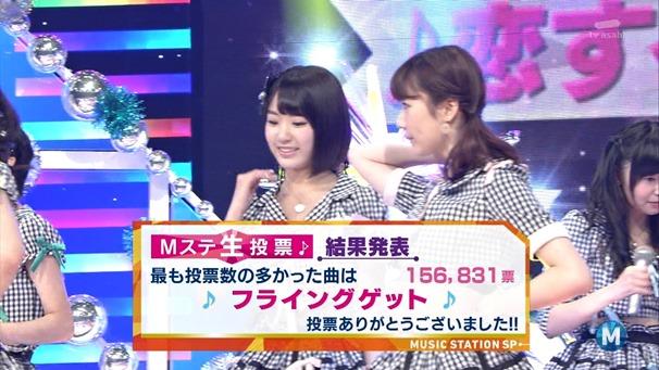 AKB48 - Labrador Retriever   Flying Get (Music Station 2014.06.27).ts - 00058