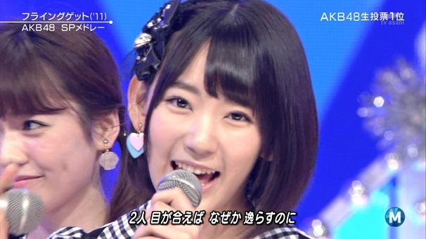 AKB48 - Labrador Retriever   Flying Get (Music Station 2014.06.27).ts - 00082