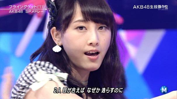 AKB48 - Labrador Retriever   Flying Get (Music Station 2014.06.27).ts - 00086