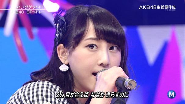 AKB48 - Labrador Retriever   Flying Get (Music Station 2014.06.27).ts - 00093
