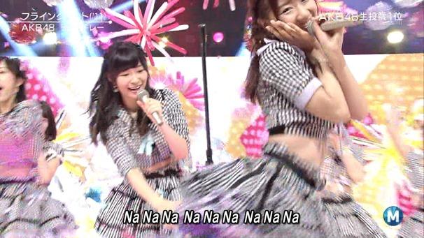 AKB48 - Labrador Retriever   Flying Get (Music Station 2014.06.27).ts - 00123