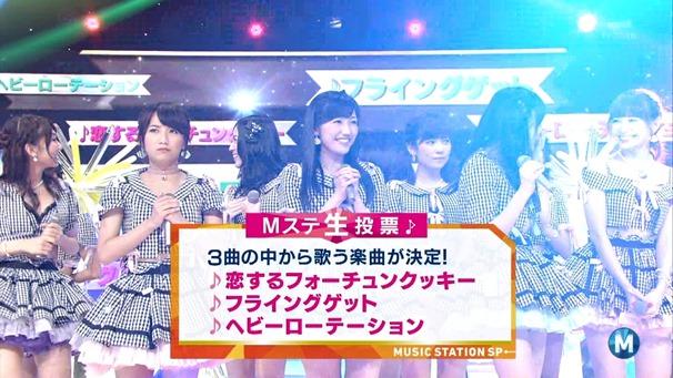 AKB48 - Labrador Retriever   Flying Get (Music Station 2014.06.27).ts - 00130