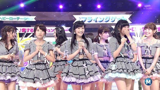 AKB48 - Labrador Retriever   Flying Get (Music Station 2014.06.27).ts - 00131