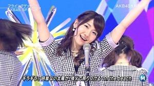 AKB48 - Labrador Retriever   Flying Get (Music Station 2014.06.27).ts - 00146