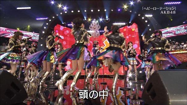 AKB48, SKE48, NMB48 & Nogizaka46 - Heavy Rotation, Everyday Katyusha, Flying Get, Mirai to wa, Ibiza Girl, Natsu no Free & Easy (TV Tokyo Ongakusai 140626).ts - 00009