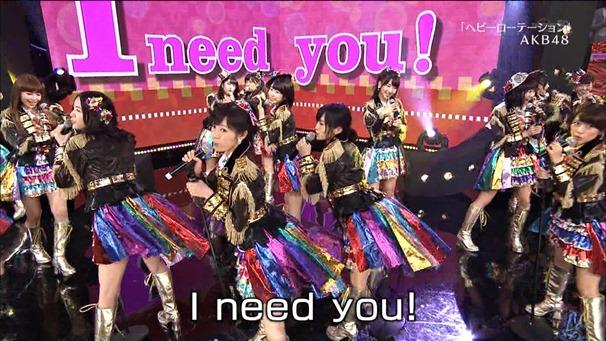 AKB48, SKE48, NMB48 & Nogizaka46 - Heavy Rotation, Everyday Katyusha, Flying Get, Mirai to wa, Ibiza Girl, Natsu no Free & Easy (TV Tokyo Ongakusai 140626).ts - 00017