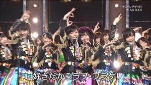 AKB48, SKE48, NMB48 & Nogizaka46 - Heavy Rotation, Everyday Katyusha, Flying Get, Mirai to wa, Ibiza Girl, Natsu no Free & Easy (TV Tokyo Ongakusai 140626).ts - 00059