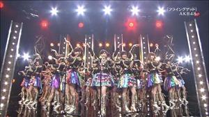 AKB48, SKE48, NMB48 & Nogizaka46 - Heavy Rotation, Everyday Katyusha, Flying Get, Mirai to wa, Ibiza Girl, Natsu no Free & Easy (TV Tokyo Ongakusai 140626).ts - 00060