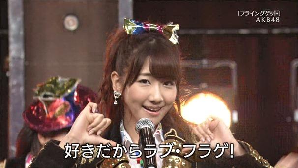 AKB48, SKE48, NMB48 & Nogizaka46 - Heavy Rotation, Everyday Katyusha, Flying Get, Mirai to wa, Ibiza Girl, Natsu no Free & Easy (TV Tokyo Ongakusai 140626).ts - 00056