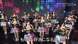 AKB48, SKE48, NMB48 & Nogizaka46 - Heavy Rotation, Everyday Katyusha, Flying Get, Mirai to wa, Ibiza Girl, Natsu no Free & Easy (TV Tokyo Ongakusai 140626).ts - 00036