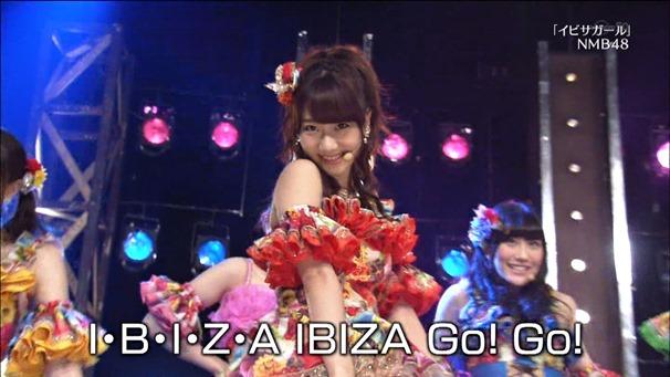 AKB48, SKE48, NMB48 & Nogizaka46 - Heavy Rotation, Everyday Katyusha, Flying Get, Mirai to wa, Ibiza Girl, Natsu no Free & Easy (TV Tokyo Ongakusai 140626).ts - 00067