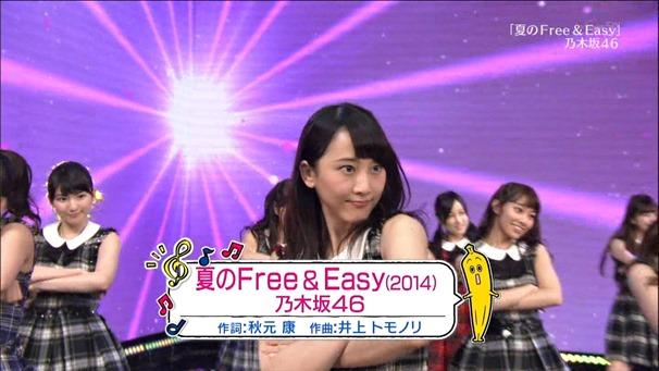 AKB48, SKE48, NMB48 & Nogizaka46 - Heavy Rotation, Everyday Katyusha, Flying Get, Mirai to wa, Ibiza Girl, Natsu no Free & Easy (TV Tokyo Ongakusai 140626).ts - 00075