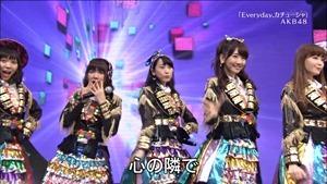 AKB48, SKE48, NMB48 & Nogizaka46 - Heavy Rotation, Everyday Katyusha, Flying Get, Mirai to wa, Ibiza Girl, Natsu no Free & Easy (TV Tokyo Ongakusai 140626).ts - 00024