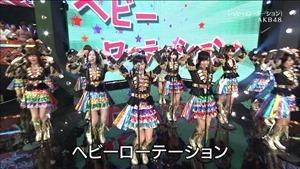 AKB48, SKE48, NMB48 & Nogizaka46 - Heavy Rotation, Everyday Katyusha, Flying Get, Mirai to wa, Ibiza Girl, Natsu no Free & Easy (TV Tokyo Ongakusai 140626).ts - 00011