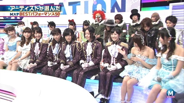 AKB48 - RIVER   Flying Get   Kokoro no Placard   Talk (Music Station SP 140926).ts - 00023