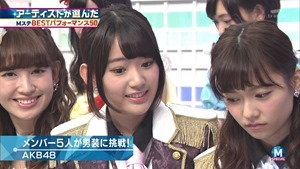 AKB48 - RIVER   Flying Get   Kokoro no Placard   Talk (Music Station SP 140926).ts - 00038