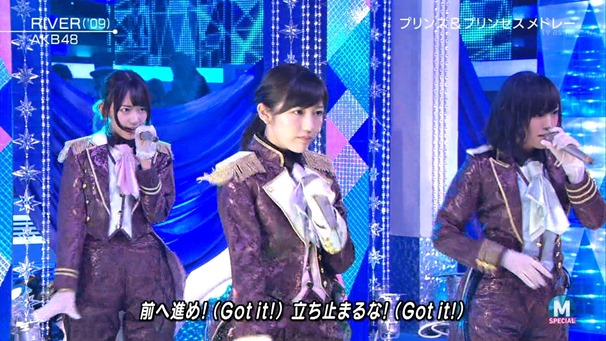 AKB48 - RIVER   Flying Get   Kokoro no Placard   Talk (Music Station SP 140926).ts - 00075