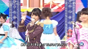 AKB48 - RIVER   Flying Get   Kokoro no Placard   Talk (Music Station SP 140926).ts - 00102
