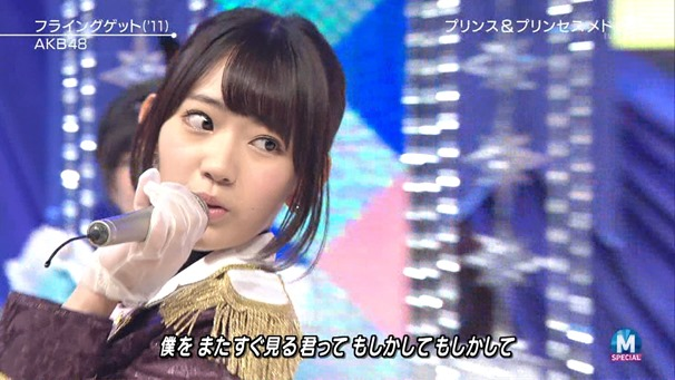 AKB48 - RIVER   Flying Get   Kokoro no Placard   Talk (Music Station SP 140926).ts - 00107