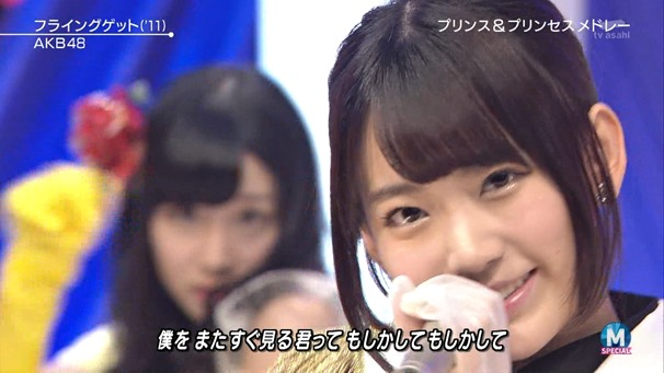 AKB48 - RIVER   Flying Get   Kokoro no Placard   Talk (Music Station SP 140926).ts - 00114