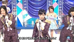 AKB48 - RIVER   Flying Get   Kokoro no Placard   Talk (Music Station SP 140926).ts - 00116