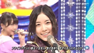 AKB48 - RIVER   Flying Get   Kokoro no Placard   Talk (Music Station SP 140926).ts - 00126