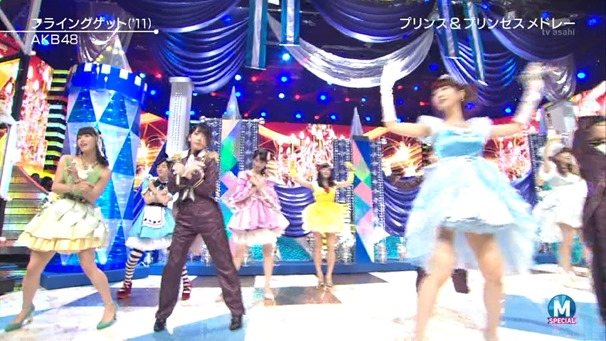 AKB48 - RIVER   Flying Get   Kokoro no Placard   Talk (Music Station SP 140926).ts - 00140