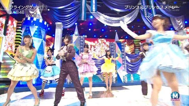 AKB48 - RIVER   Flying Get   Kokoro no Placard   Talk (Music Station SP 140926).ts - 00141