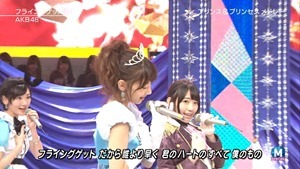 AKB48 - RIVER   Flying Get   Kokoro no Placard   Talk (Music Station SP 140926).ts - 00158