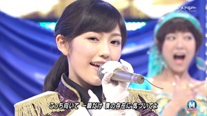 AKB48 - RIVER   Flying Get   Kokoro no Placard   Talk (Music Station SP 140926).ts - 00174
