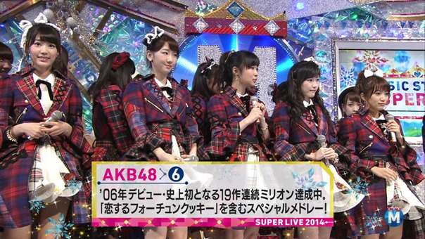 141226 AKB48 Nogizaka46 Part - Music Station Super Live.ts - 00046