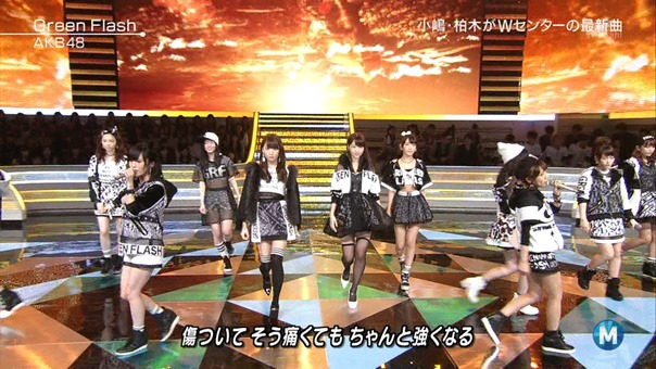AKB48 - Green Flash (Music Station 2015.02.27).ts - 00023
